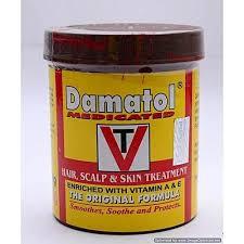 Damatol Hair Cream 250g