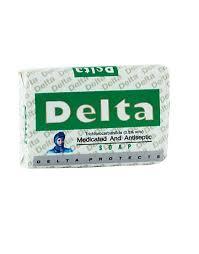 Delta Medicated & Antiseptic Soap 80g