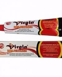 Virgin hair Cream